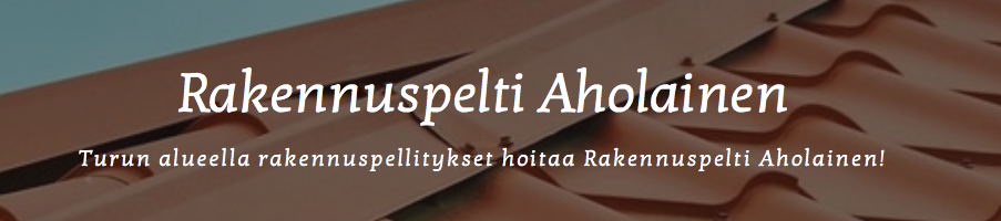 Rakennuspelti Aholainen - Jarno Heinonen